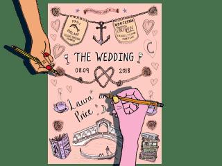Wedding Artwork Design