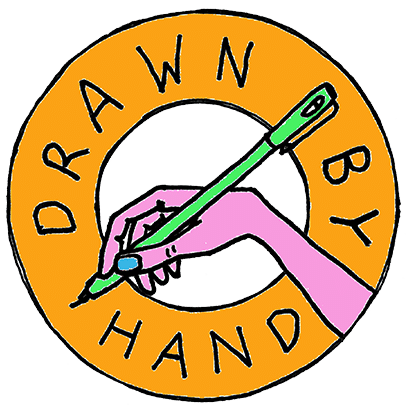 DRAWN BY HAND