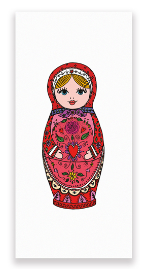 Pin Banner russian doll 290×530