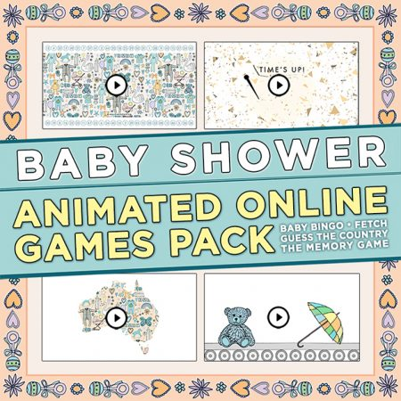Baby Shower Games Pack