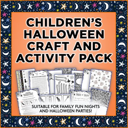 Children's Halloween Craft Kit