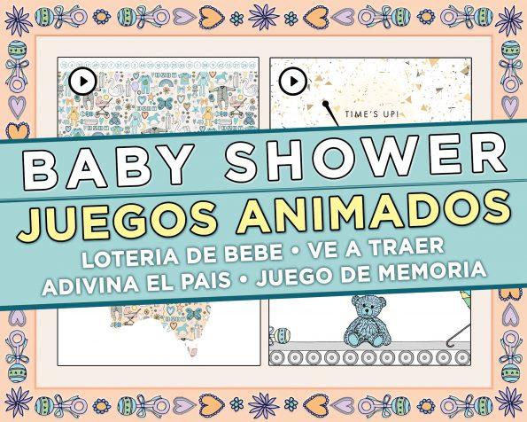 Baby Shower Juegos Virtuales