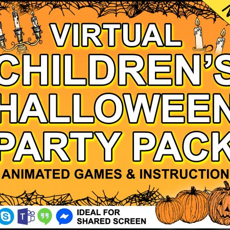 childrens virtual Halloween