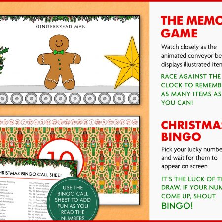 Virtual Christmas Games