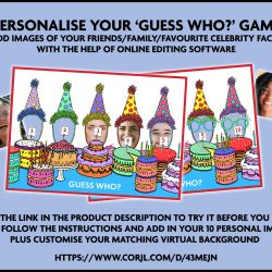Birthday Guess Who Game