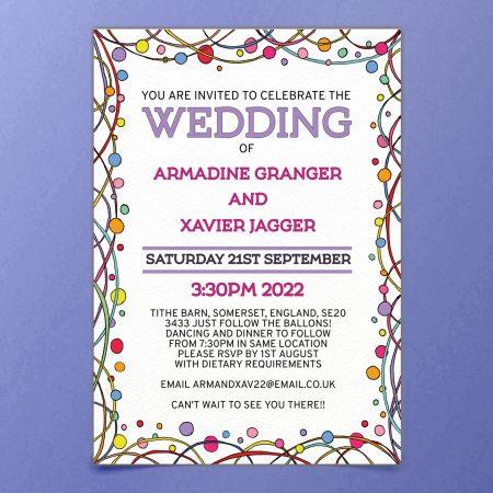 Editable Wedding Invite